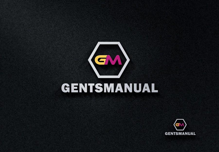 Design a Logo for GentsManual.com 콘테스트 응모작 #82