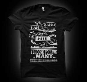 #12 для Design a sentence for a t-shirts print від murtalawork