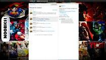 Graphic Design Entri Kontes #14 untuk Twitter Background for Noobics Blog