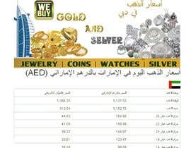 #9 for Design a Banner for Dubai gold application by souadsaid