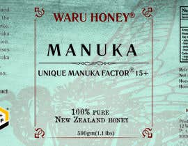 #49 for Waru Honey label by TianuAlexandra