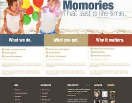 #3 for Design a Website Mockup for Memory Fortress by ChrisTbs