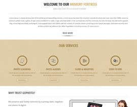 #10 for Design a Website Mockup for Memory Fortress by Aloknano