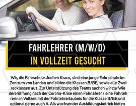#2 für Poster for job advertisement for a driving school von perrysolanki