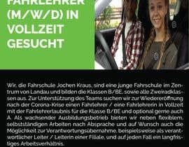 #9 für Poster for job advertisement for a driving school von topusarkarbd
