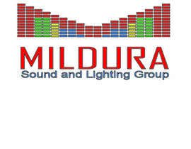 akjacob tarafından Design a Logo for Mildura Sound and Lighting Group için no 33