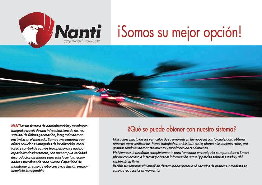 Inscrição nº 30 do Concurso para Brochure Design for Telematic Fleet Management System Company
