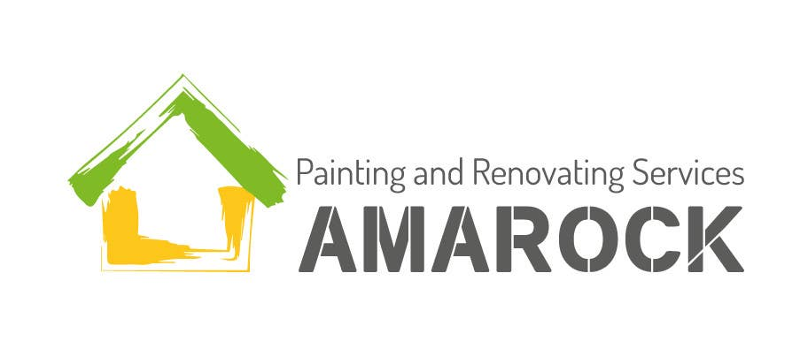 Kilpailutyö #28 kilpailussa Design a Logo for painting and renovation company