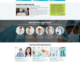 #8 para Design a Website Mockup for a Clinic de nikil02an
