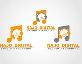 Nro 38 kilpailuun I need a logo designed for Digital recording studio käyttäjältä aalliyaahaadi