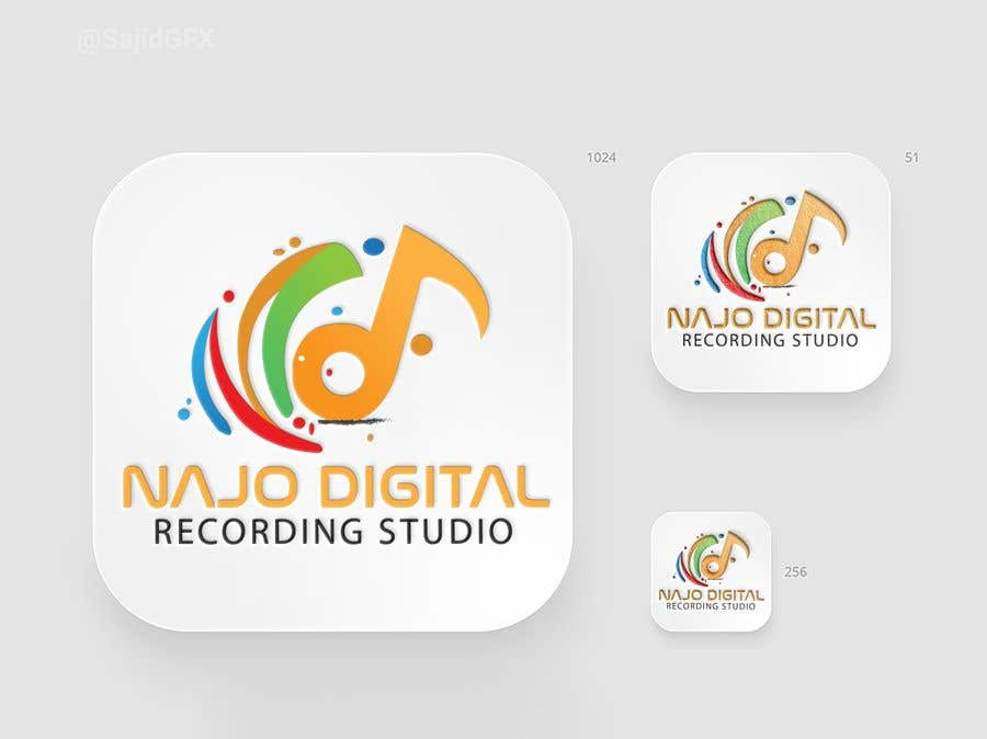 Kilpailutyö #                                        10                                      kilpailussa                                         I need a logo designed for Digital recording studio