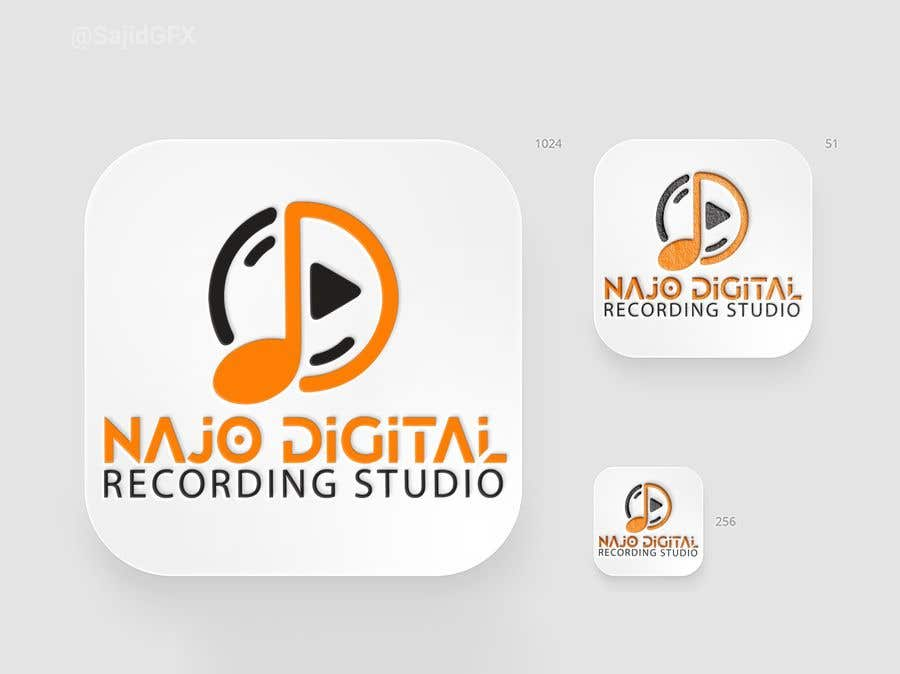 Kilpailutyö #                                        12                                      kilpailussa                                         I need a logo designed for Digital recording studio