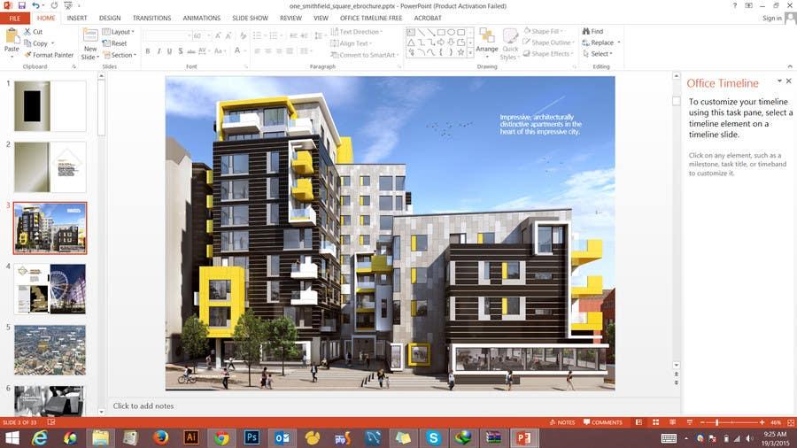 Συμμετοχή Διαγωνισμού #2 για Design a Brochure for Property project