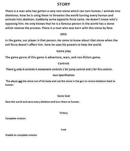 Kilpailutyö #                                        11                                      kilpailussa                                         Suggest concepts for an undead-themed mobile game