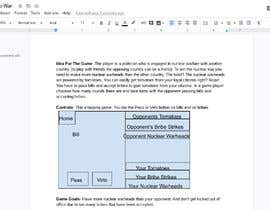 Nro 12 kilpailuun Suggest a concept for a politics-themed mobile game käyttäjältä WillRedB