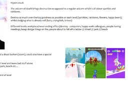 Nro 9 kilpailuun Concept for a unicorn-themed mobile game käyttäjältä akhardman