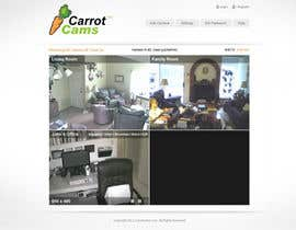 dreamsweb tarafından Website Design for CarrotCams için no 5