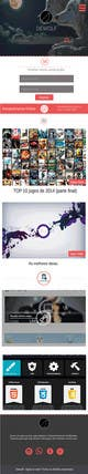 """Pictograma corespunzătoare intrării #3 pentru concursul """"Template para blog em Wordpress - Dewolf.com.br"""""""
