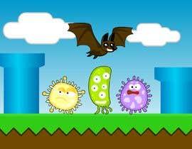 #2 for 2D fly animation Batt + 2D die animation virus. by harsamcreative