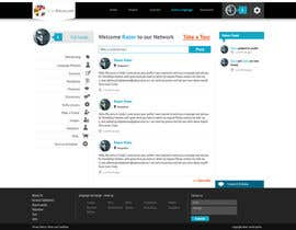 #6 for http://www.fluentfuture.com/ - language exchange home page design af jeransl