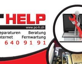 #7 für Design advertising blank/banner for my window / Werbeplache erstellen von nselka
