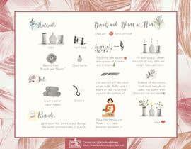 #8 для Flower Shop DIY at Home Instruction Sheet Drawing от triciacandelario