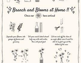 #30 для Flower Shop DIY at Home Instruction Sheet Drawing от jesila1525