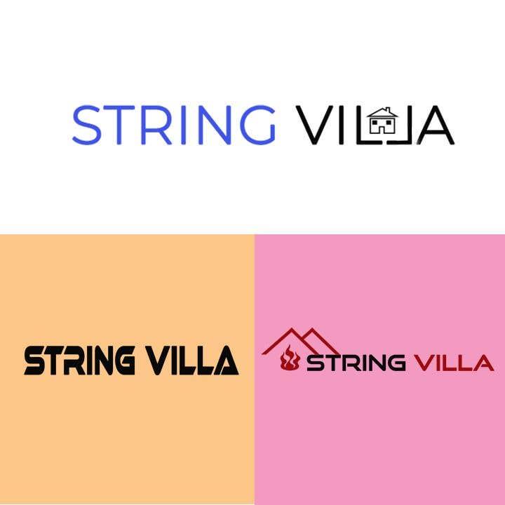 Penyertaan Peraduan #                                        19                                      untuk                                         Build a logo for String Villa
