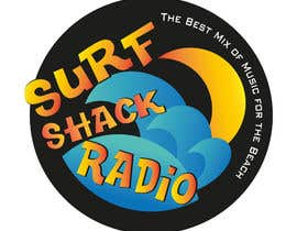 #186 für Design a Logo for Surf Shack Radio von MaKArty