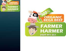 nº 17 pour Logo Design for Farmer Harmer Grass Fed Beef par rjanu
