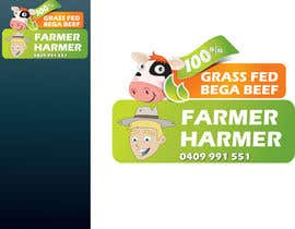 nº 20 pour Logo Design for Farmer Harmer Grass Fed Beef par rjanu