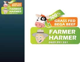 nº 24 pour Logo Design for Farmer Harmer Grass Fed Beef par rjanu