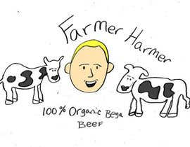 nº 11 pour Logo Design for Farmer Harmer Grass Fed Beef par wardv