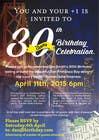 Design a 30th Birthday Invite için Graphic Design64 No.lu Yarışma Girdisi