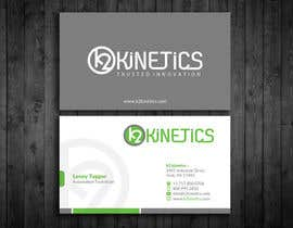 #269 pentru Design some Business Cards for K2 Kinetics de către webixbd