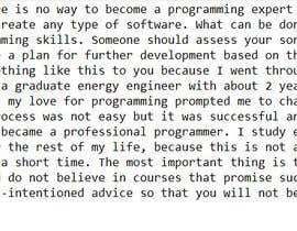 """#17 untuk Plan a strategy """"how to learn a software programming"""" oleh mdodic92"""