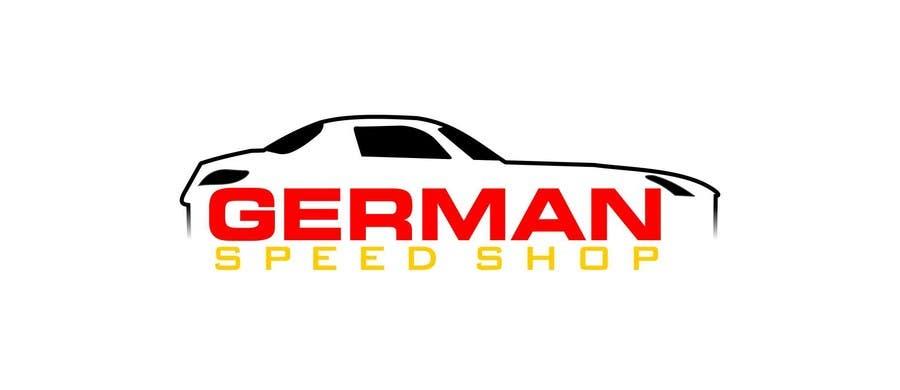 Inscrição nº 8 do Concurso para Logo design for the, German speed shop