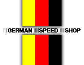 nº 17 pour Logo design for the, German speed shop par GBHoldings