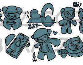 #6 para -character artists stickers por gburaczyk