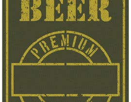 #4 untuk Beer Label - Army Military Theme oleh cloverenergy