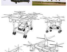 Nro 18 kilpailuun Drone for cargo/military appliances käyttäjältä yoyopriyonggo