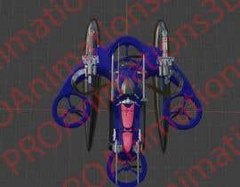 #24 pentru Drone for cargo/military appliances de către PROAnimations3D