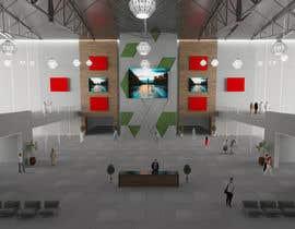 #12 for Design a Lobby/Reception area for a Virtual Event Platform by gcapelettim