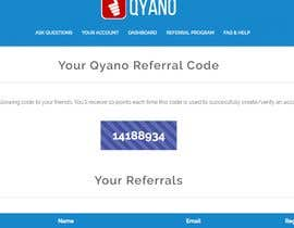 #9 for Website SIgnup, Site Use & Referrals Contest by suhayelb7