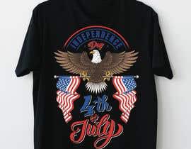 Sidra9027님에 의한 Need a printable vector t-shirt design for 4th of July holiday을(를) 위한 #31