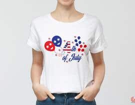 shantaaktar971님에 의한 Need a printable vector t-shirt design for 4th of July holiday을(를) 위한 #12