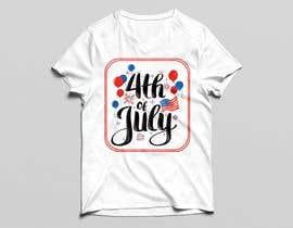hasanraju7님에 의한 Need a printable vector t-shirt design for 4th of July holiday을(를) 위한 #9