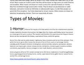 #32 for Write a short paragraph about Movies(programs TV and Radio) types in the western countries (especially USA) by shawn01716816908