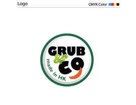 "sunching801 tarafından Design a Logo and packaging sleeve for ""GRUB & CO"" için no 39"