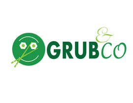 "laamoh91 tarafından Design a Logo and packaging sleeve for ""GRUB & CO"" için no 38"
